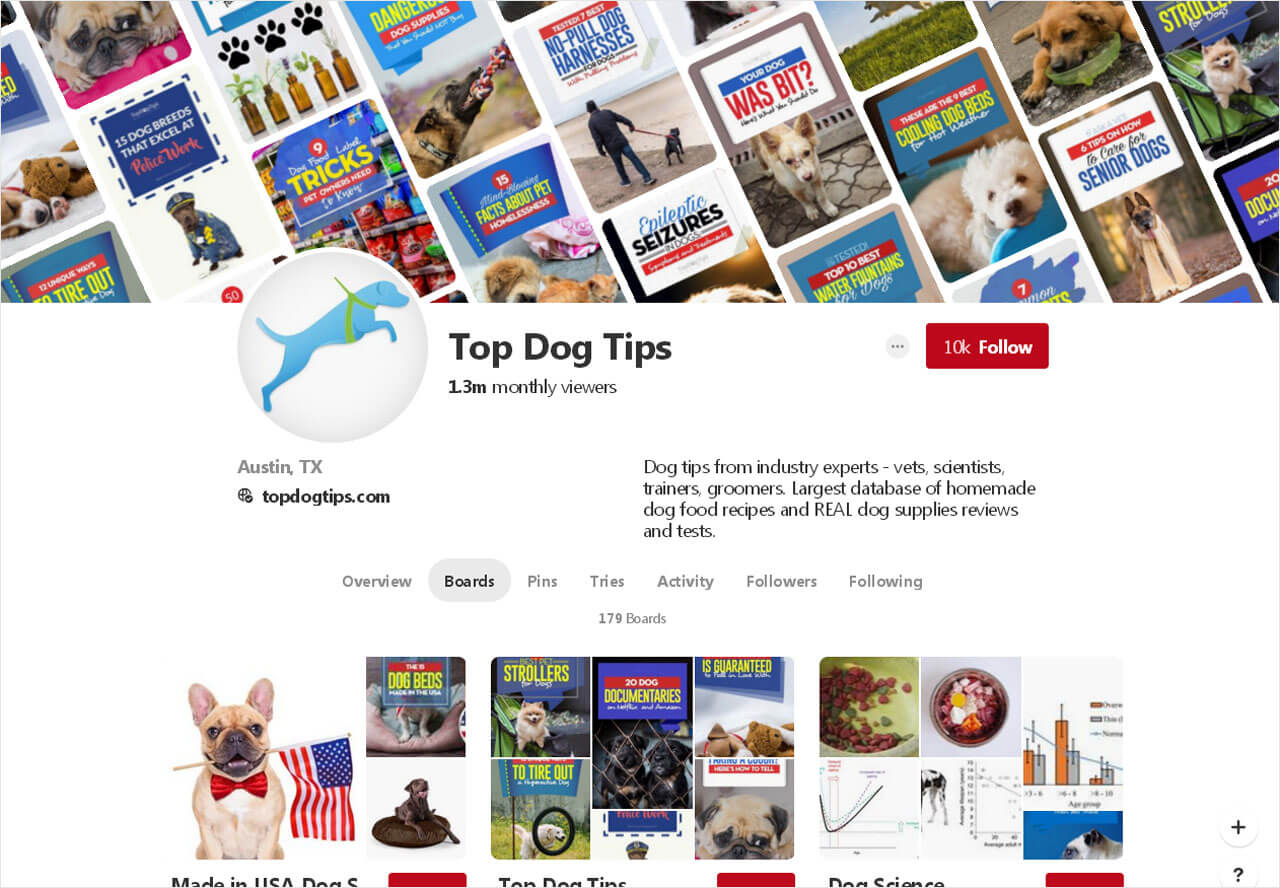 Top Dog Tips